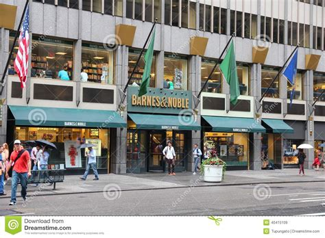 barnes noble new york ny barnes and noble editorial stock image image of commerce