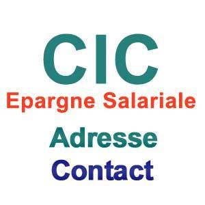 si鑒e cic cic epargnesalariale fr téléphone adresse contact cic épargne salariale