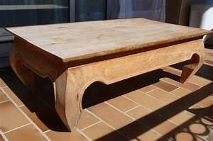 Table Basse Bois Brut : table basse bois brut ameublement maison avignon ~ Melissatoandfro.com Idées de Décoration