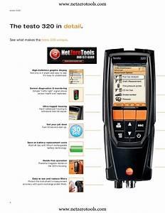 Testo 310 Guide Testo 320 Testo 310 User Manual