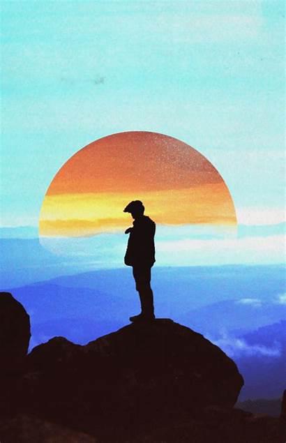 Photographers Sunrise Sun Gifs Animated Infinite Loop