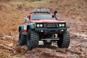PG4S 4x4 1/10 Scale Off Road Truck Rock Crawler KIT Compatible RC4WD Tamiya 1/10 Pickup Truck Toyota Hilux Highlift 58397