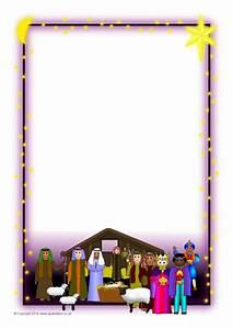 Christmas A4 Portrait Page Borders 2 (SB3524) - SparkleBox
