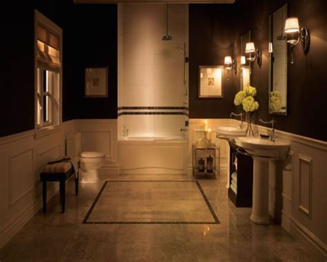 Decoration Ideas For Bathrooms Black And White by 21 Traditional Black And White Bathroom Design Ideas