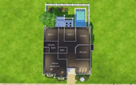 sims  homes lissette dwelling    family home  bed  sims  houses sims house