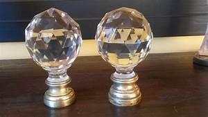 Boule De Rampe D Escalier : boule d escalier en cristal paire paul bert serpette ~ Melissatoandfro.com Idées de Décoration