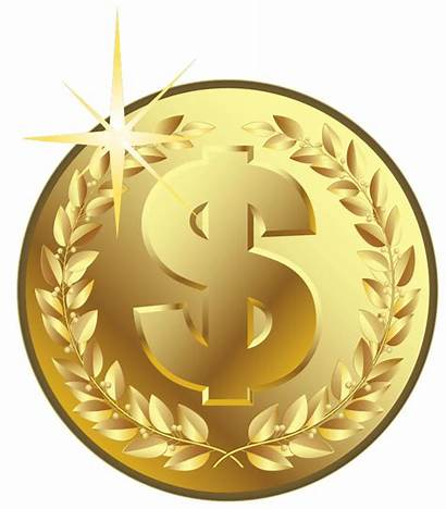 Coin Gold Clipart Coins Money Transparent Background