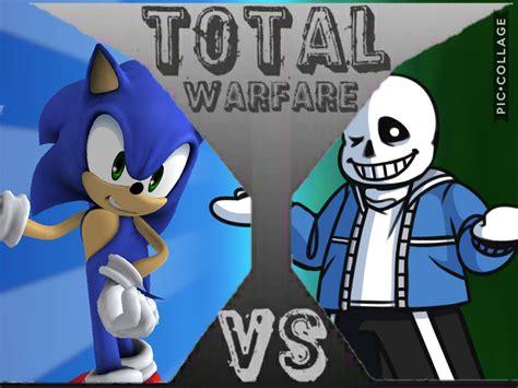 sonic  sans total warfare fanon wikia fandom