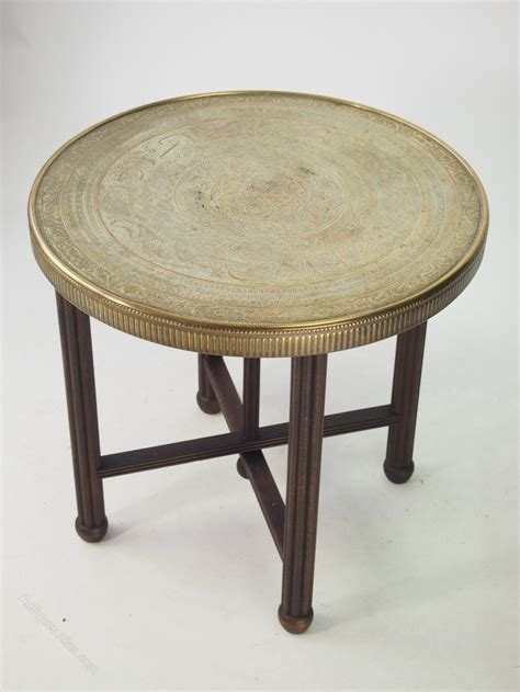 Antique Folding Occasional Table