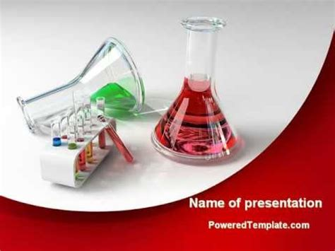 chemical lab equipment powerpoint template