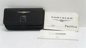 2008 Chrysler Pacifica Owners Manual Guide Book With Case