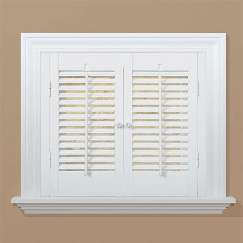 window shutters interior home depot installation mounting hardware faux wood shutters