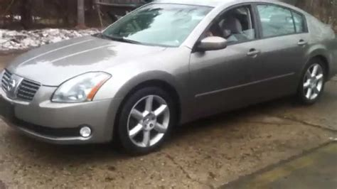 Nissan Maxima Transmission Problem Youtube