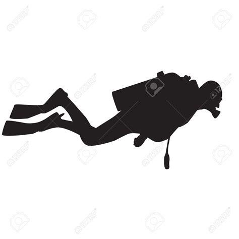 Scuba Diver Clipart Scuba Diver Silhouette Clip Www Pixshark