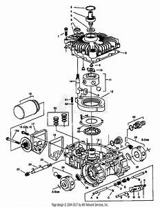 Troy Bilt 13040 18hp Hydro Garden Tractor  S  N 130400100101  Parts Diagram For Hydro