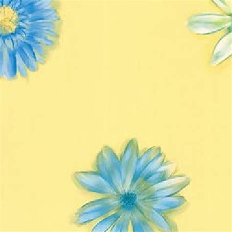 girls blue white daisies  yellow wallpaper kg