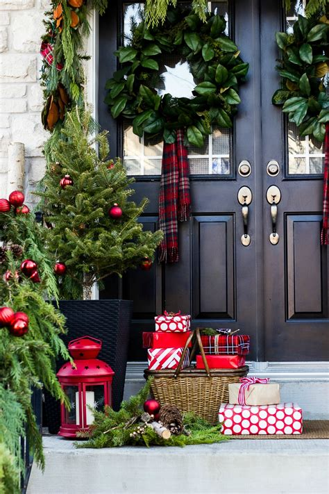 christmas front porch ideas  decorate