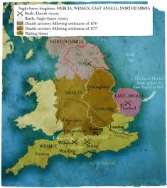 King Alfred The Great Map