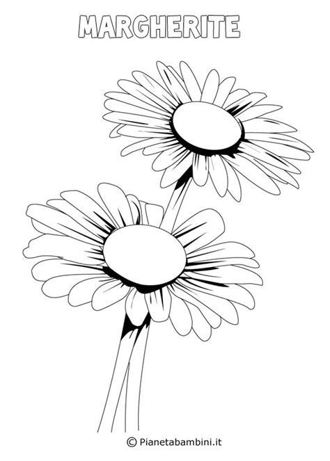 disegni  fiori  primavera da stampare  colorare pianetabambiniit