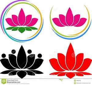 Lotus Logo Royalty Free Stock Images