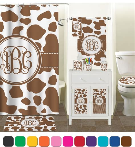 Cowhide Shower Curtain by Cow Print Shower Curtain Personalized Youcustomizeit