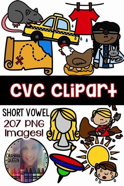 Cvc Clipart Clip Words Word Teacherspayteachers