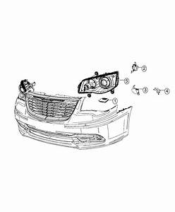 Dodge Grand Caravan Sensor  Headlamp  Rear