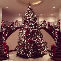 kris jenner    decadent christmas tree