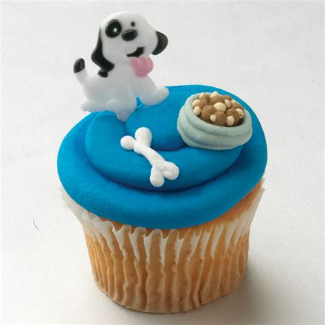 cuisine cupcake food images puppy cupcake hd wallpaper and background photos 24077532