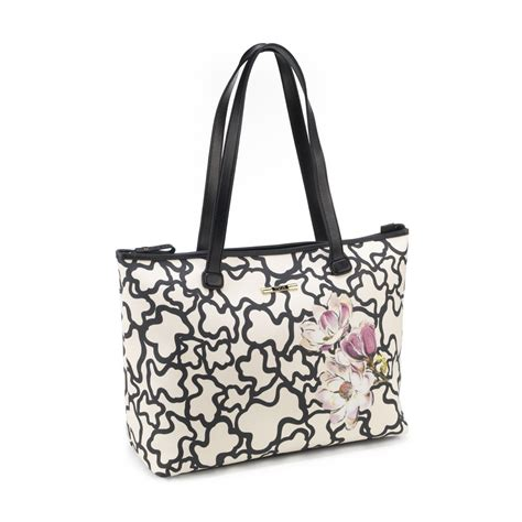 tous kaos limited edition collection handbag waterproof vinyl combined with bovine 29