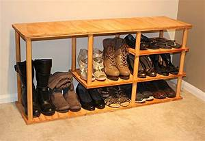 How To Build A Shoe Rack At The Home Depot
