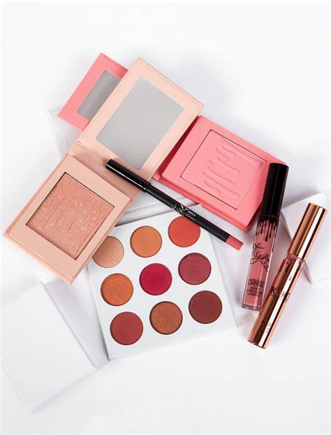 kylie cosmetics pink bundles   easy    trendiest spring makeup shade allure
