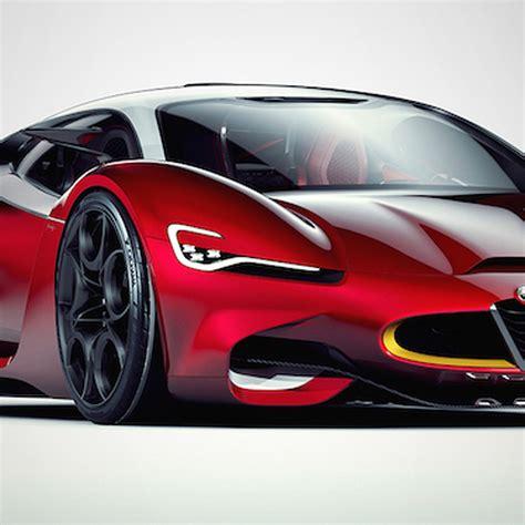 Alfa Romeo Supercar by Alfa Romeo Furia Concept Envisions An Italian Supercar