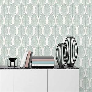 Papier Peint Photo : papier peint intiss kori vert leroy merlin ~ Melissatoandfro.com Idées de Décoration