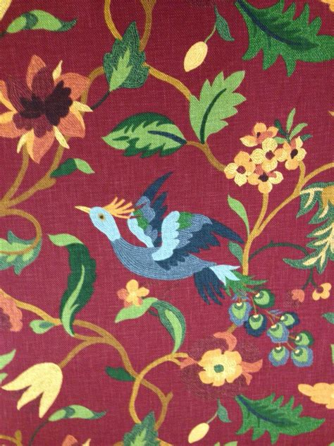 Bird Drapery Fabric - bird upholstery fabric upholstery fabric by the yard
