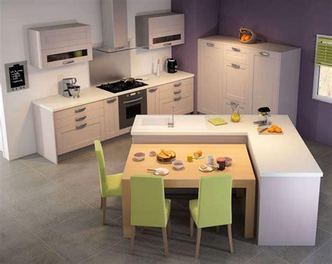 table centrale cuisine cuisine design intéressant comme configuration mais