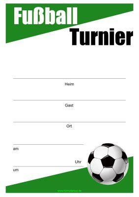fussball plakat poster mit fussball vorlage muster zum