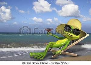 Transat De Plage : transat plage grenouille plage transat vert ~ Dode.kayakingforconservation.com Idées de Décoration