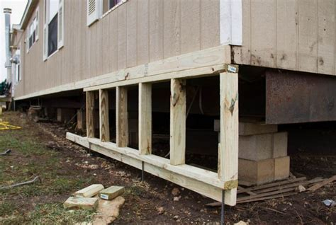 inexpensive deck skirting ideas image gallery mobile home skirting panels