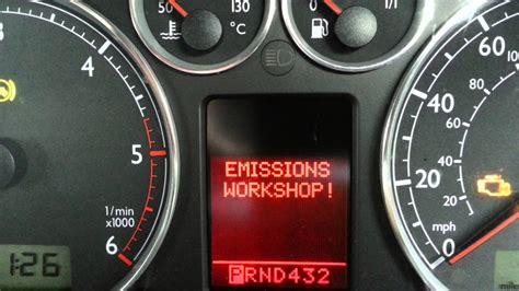 bypass check engine light emissions test vw audi emissions workshop error code and check engine