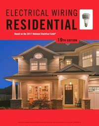 Electrical Wiring Residential Edition