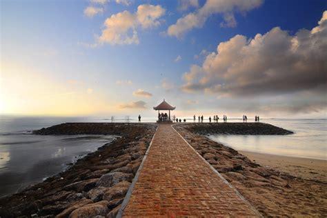 pantai sanur objek wisata  bali