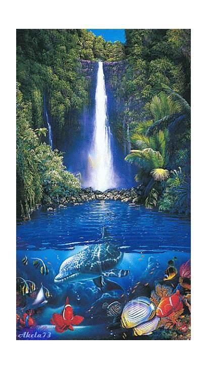 Water Nature Waterfalls Gifs Google Park National