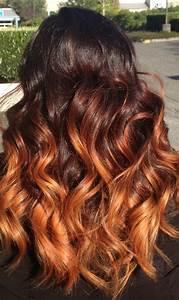 Ombré Hair Auburn : best 25 copper ombre ideas on pinterest ombre hair copper auburn ombre and ombre ginger hair ~ Dode.kayakingforconservation.com Idées de Décoration