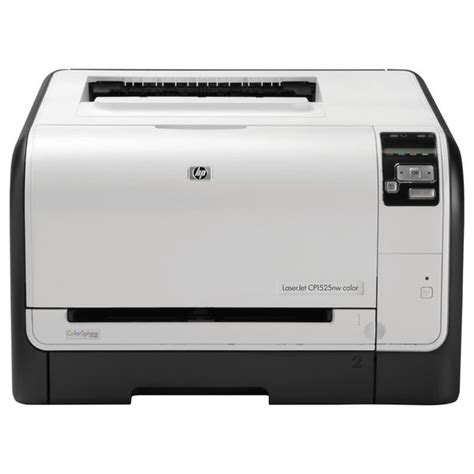 Hp laserjet professional cp1525n color printer full feature software and driver. HP LaserJet Pro CP1525 CP1525NW Laser Printer - Refurbished - Color - Overstock - 7774683