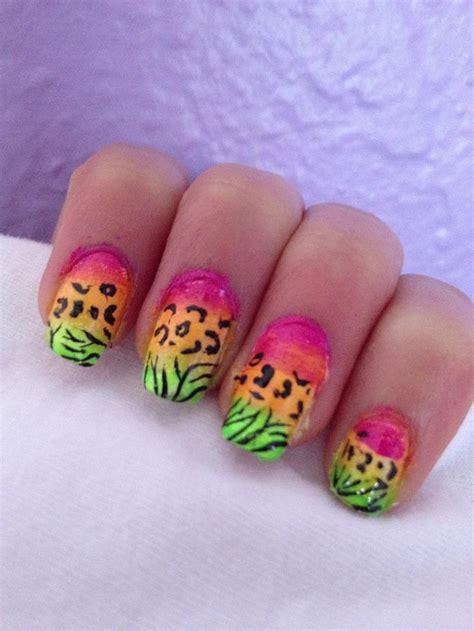 animal print nail art designs godfather style