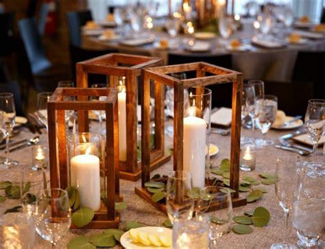 diy wood lantern centerpieces jaime costiglio