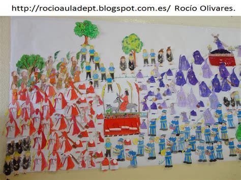 rocio olivares el aula de pt semana santa