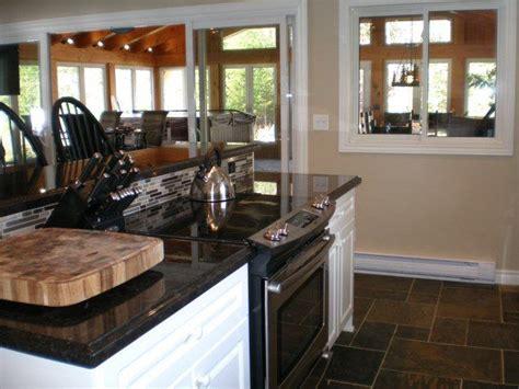 kitchen island  stove top oven  bar