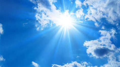 Fine weather forecast on morning of polling day